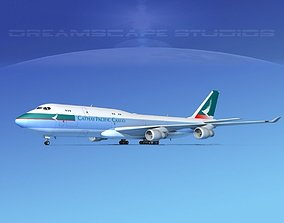 Boeing 747-8I Cathay Pacific Cargo 3D