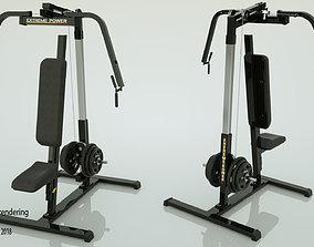 fitness Gym Machine 02 3D
