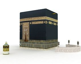 The Kaaba Al-Musharrafah 3D asset