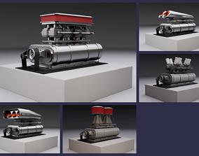 Superchargers kit 3D model