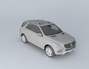 2012 Mercedes-Benz M-Class 3D model