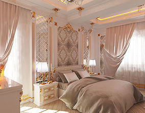 3D asset Bedroom classic Ehmedli