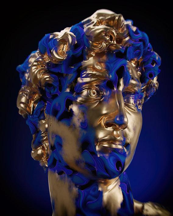 DAVID AND BLUE MIST