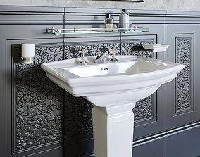 Washbasin DevonDevon Westminster 3D model