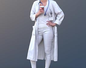 Nadin 10467 - Standing Healthcare Woman 3D asset