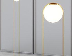 3D model Lampatron HOOP - Floor Lamp