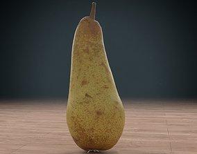 3D asset pear low poly