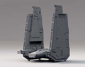 star wars command shuttle 3D