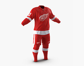 Hockey Clothes Detroit Red Wings 3D