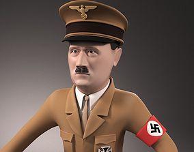 3D model Adolf Hitler Cartoon