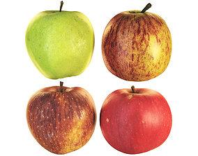 3D model 4k Apples