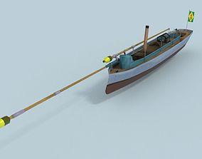 Alfa III Spearhead Torpedo Boat 3D asset