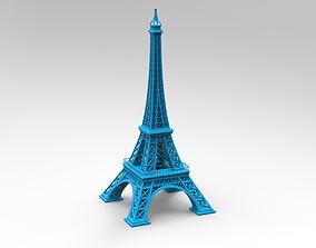 architectural 3D print model Eiffel Tower