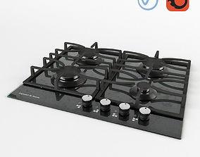 3D model Zigmund and Shtain Gas Hob