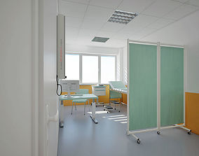 Ordination-Medical office at heath center 3D model
