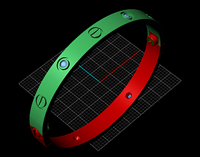braclet 160mm 3D printable model