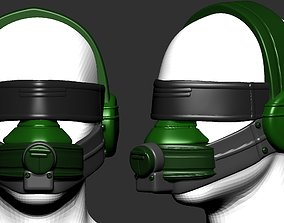 helmet high poly sculpt 3d printable ver 3 3D