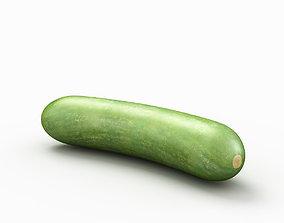 Cucumber vegetable 3D
