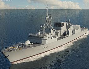 Halifax class frigate 3D