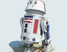 R5-D4 Droid Star Wars 3D