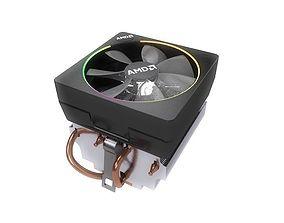 3D AMD Wraith Ryzen CPU cooler