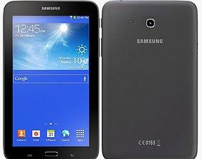 3D Samsung Galaxy Tab 3 Lite 7 0 black