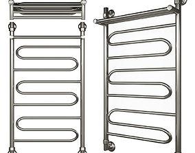 3D Heated towel rail of Nick Curve LZ VP