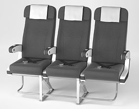Airplane chair V4 3D model