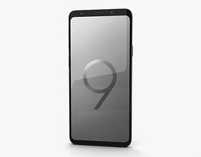 3D Samsung Galaxy S9 Plus Titanium Gray
