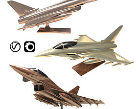 3D Eurofighter Typhoon Jet Aircraft Decoration