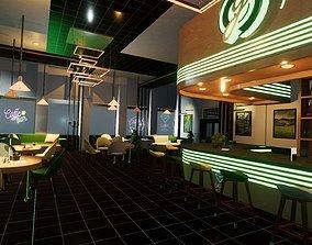 3D asset Green Lounge Unity