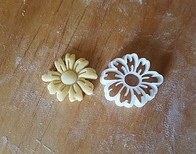 3D printable model Daisy Flower Cookie Cutter