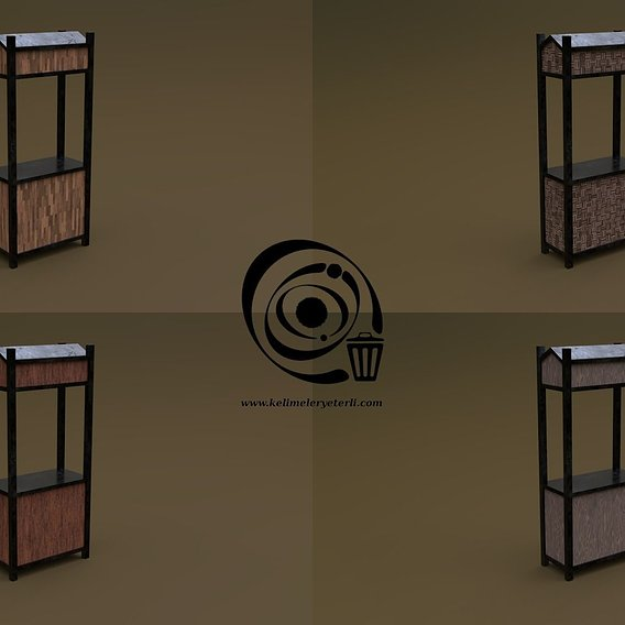 Trade stand 10 4in1 RR - 4 PBR Texture 1 Model