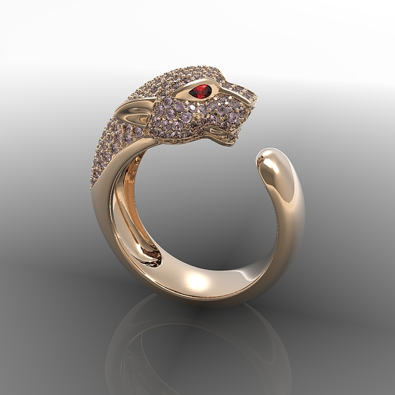 Ring panthere cartier
