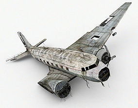 3D model Damage Airplane