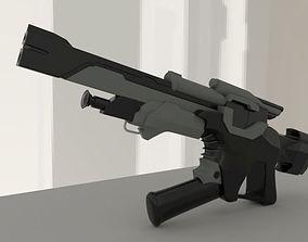calhoun gun 3D model