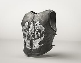 Roman Armor Gladiator Cuirass 3D asset