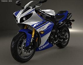 Yamaha R1 2014 3D model