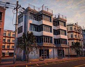 BUILDING URBAN AREA HONGKONG JAPAN CHINA ASIAN 06 3D model