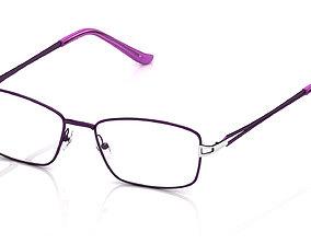 3D printable model Eyeglasses for Men and Women isolated