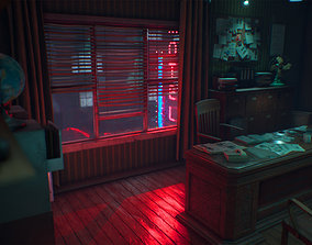 Detective Office 3D model