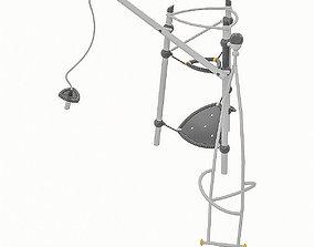 3D model VR / AR ready Playground Equipment 078