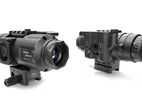 Trijicon Reap-IR IRMS-20-2 Thermal Weapon Sight 3D model
