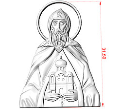 3D printable model Holy Prince Daniel of Moscow
