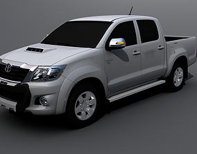 Toyota Hilux 2014 3D model rigged