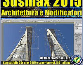 3ds max 2015 Architettura e Modificatori vol 8 cd front