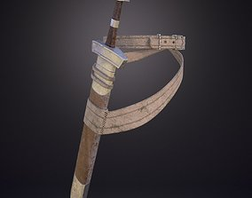 3D Sword with scabbard