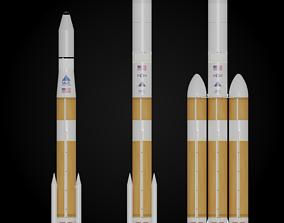 3D Delta IV Rocket