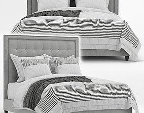 Arhaus felix tufted bed 3D model