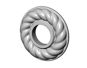3D printable model Round Rope Rosette